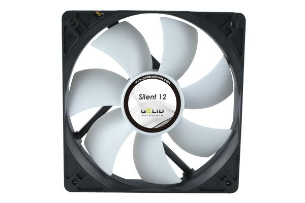 GELID Solutions Low Noise fan-1000 RPM 20.2 dBA ( 120x120x25mm )
