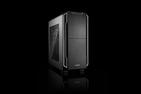 be quiet! Silent Base 600 with Window - Silber