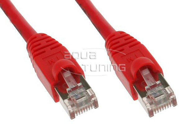 InLine® Patchkabel, SF/UTP, Cat.5e, rot, 10m