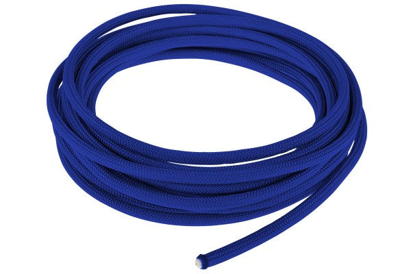 Alphacool AlphaCord Sleeve 4mm - 3,3m (10ft) - Electric Blue (Paracord 550 Typ 3) 330cm