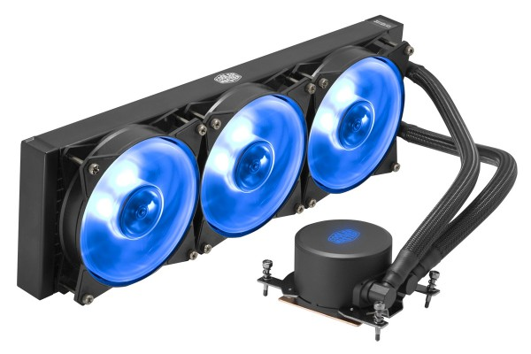 Cooler Master MasterLiquid ML360 RGB TR4 RGB All-in-One Wasserkühlung 360mm