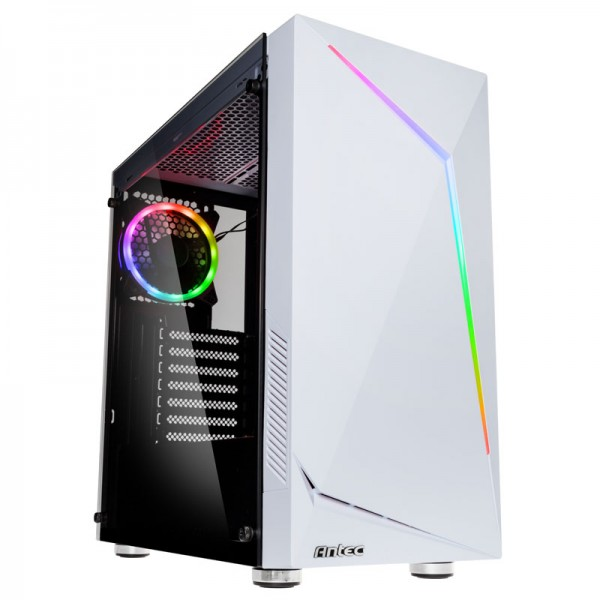 Antec New Gaming NX300 0-761345-81032-6 Midi-Tower PC Gehäuse mit Window - Weiß
