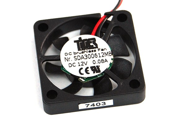 Tiger Axial-Mini-Fan Kugellager 5V DC(30x30x6mm) 9.000rpm