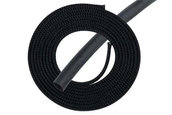 "Phobya Simple Sleeve Kit 3mm (1/8"") Schwarz 2m incl. Heatshrink 30cm"