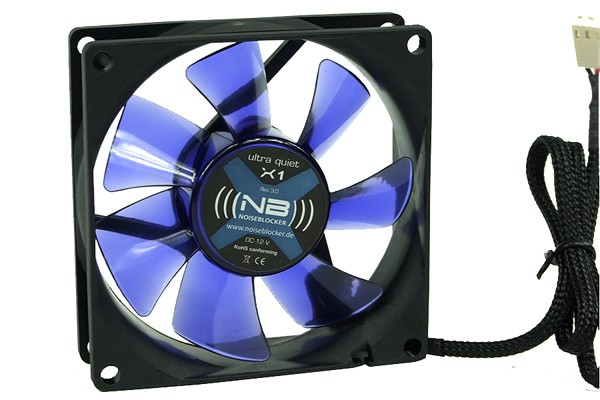Noiseblocker NB-BlacksilentFan X1 Rev. 3.0 ( 80x80x25mm )