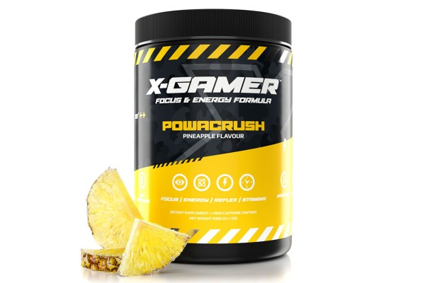 X-Gamer X-Tubz - Gaming Booster Powacrush - 600g