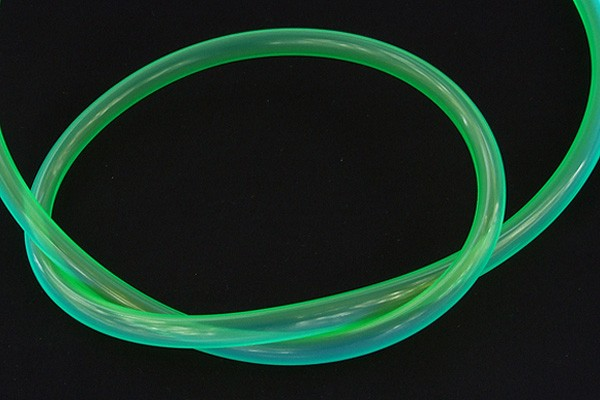 "Schlauch PUR 10/8mm (5/16""ID) UV-aktiv Green"