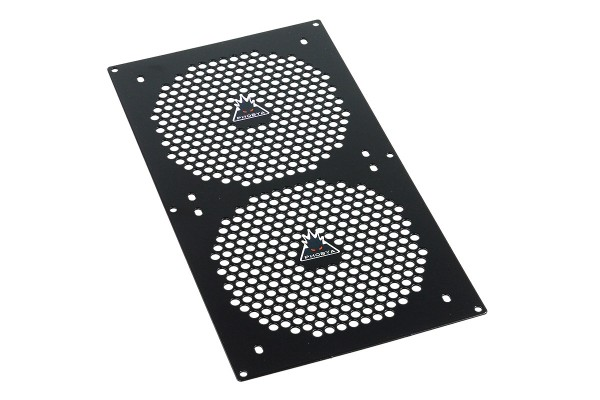 Phobya Blende Dual (280) - Hole Series - Black
