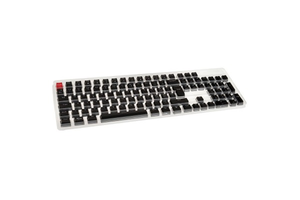 Glorious PC Gaming Race ABS Keycaps - 105 St. ISO CH-Layout - Black