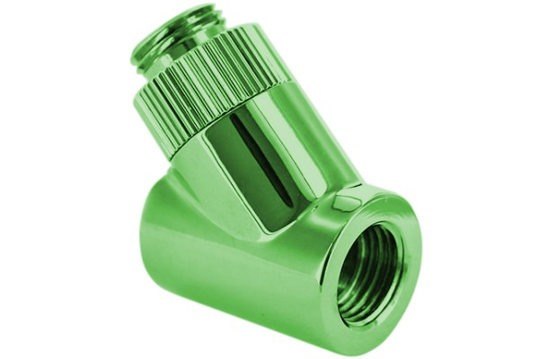 "Monsoon 19/13mm (OD 3/4"") Light Port Rotary 45° - Green"