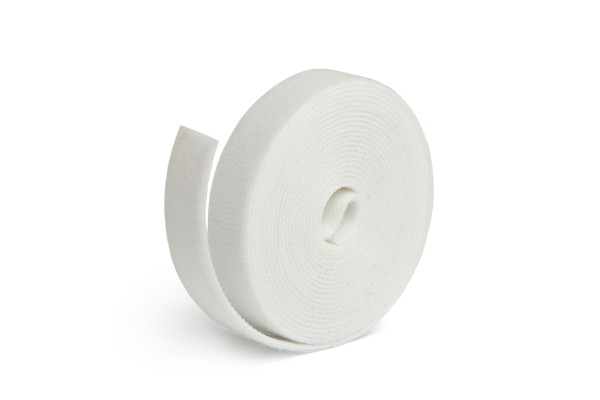 Label The Cable Klettbandrolle Dual LTC ROLL STRAP, 3m, weiß