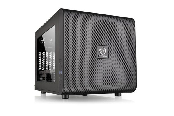Thermaltake Core V21 - Schwarz mit Window
