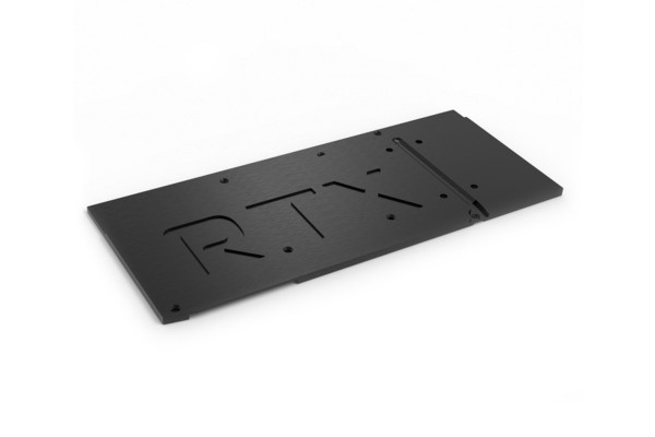 Aquacomputer Backplate für kryographics NEXT RTX 3080 Extended / RTX 3090 Extended, passiv