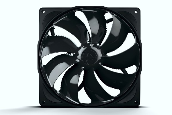 Noiseblocker NB-eLoop Fan B14-PS Black Edition - 140mm PWM ( 140x140x29mm )
