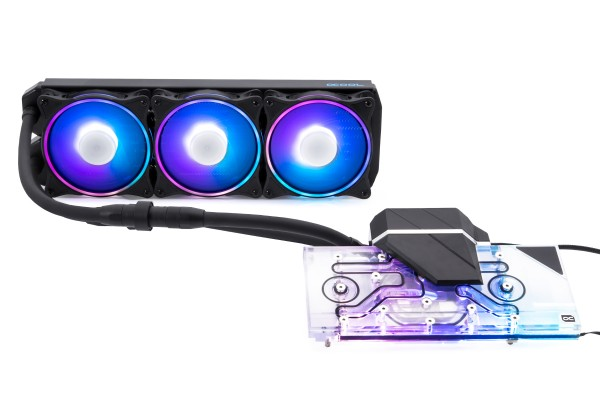 Alphacool Eiswolf 2 AIO - 360mm RTX 3090/3080 mit Backplate (Reference)