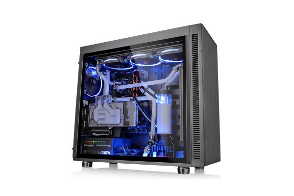 Thermaltake Suppressor F51 TG Midi Tower Gehäuse - Black mit Window