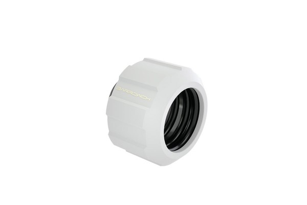 BarrwoCH Helm 14mm Hard Tube Fitting - White