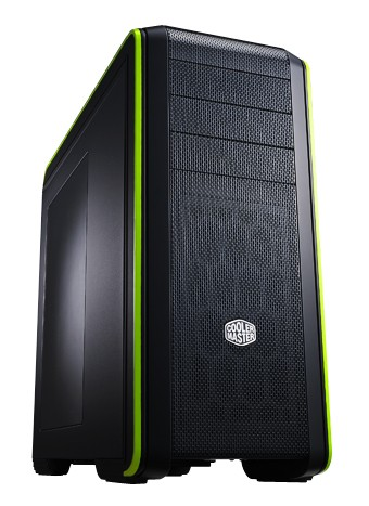 Cooler Master CM690 III Window / green