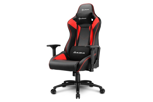 Sharkoon Elbrus 3 Gaming Chair Schwarz/Rot