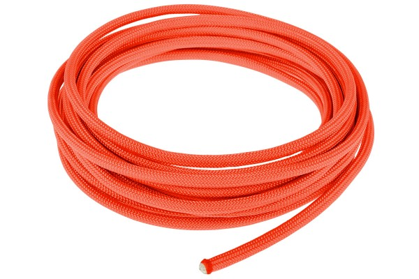 Alphacool AlphaCord Sleeve 4mm - 3,3m (10ft) - Neon Orange (Paracord 550 Typ 3) 330cm