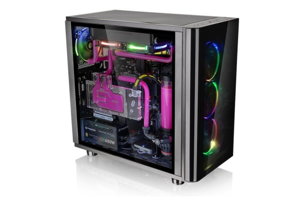 Thermaltake View 31 TG RGB Midi-Tower Schwarz