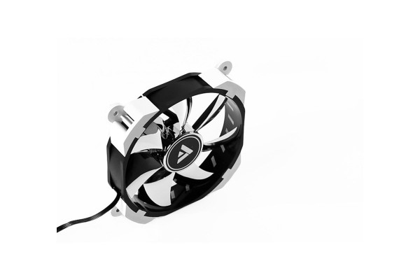 Barrow A-RGB PWM radiator fan - White