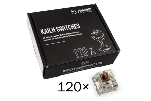 Glorious PC Gaming Race Kailh Speed Bronze Switches (120 Stück)