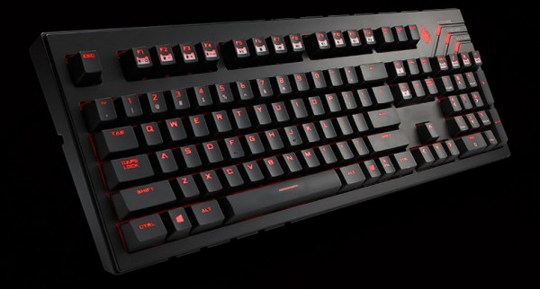 CM Storm Quick Fire PRO Ultimate Keyboard - black/silver - MX Brown (German Layout)