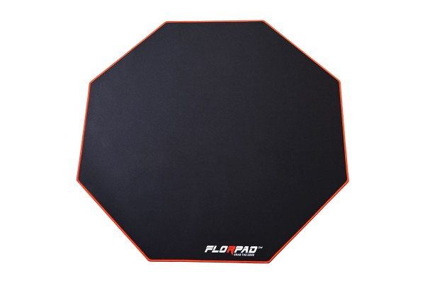 Florpad Red Line Gamer-/eSports Bodenschutzmatte - medium, rot, weich, Core